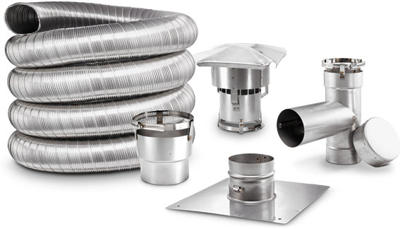 Chimney Liner Kits For Oil Wood Gas Pellet And Coal